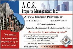 A.C.S. Property Management