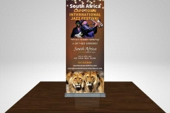 South Africa Travel & Tours Trade Show Booth Banner